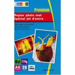 Grossist'Encre Papier Photo Mat A3 50 Feuilles