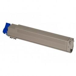 Grossist'Encre Cartouche Toner Laser Cyan Compatible pour OKI C9600 / C9800