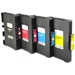 Grossist'Encre Pack de 4 Cartouches compatibles RICOH Pack GC21