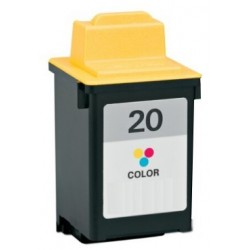 Grossist'Encre Cartouche Compatible LEXMARK N°20