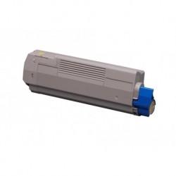 Grossist'Encre Cartouche Toner Laser Jaune Compatible pour OKI C5650