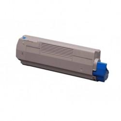 Grossist'Encre Cartouche Toner Laser Cyan Compatible pour OKI C5850