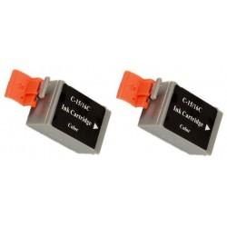Grossist'Encre Pack de 2 Cartouches de Couleurs compatibles CANON BCI15CL