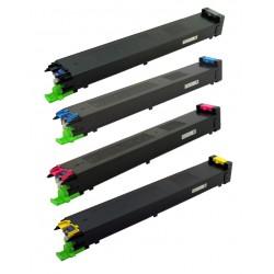 Grossist'Encre Pack de 4 TonersCompatible pourSharp MX-18GT