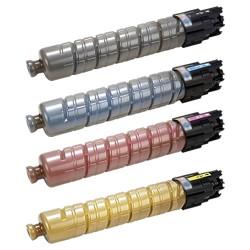 Grossist'Encre Pack de 4 TonersCompatible pourRicoh Aficio MP C3503