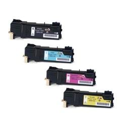 Grossist'Encre Cartouche Lot de 4 Cartouches Toners Lasers Compatibles pour XEROX PHASER 6125 BK/C/M/Y