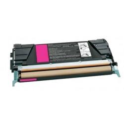 Grossist'Encre Cartouche de Toner Compatible pour Lexmark C746 / C748 / X746 / X748 / XS748 Magenta