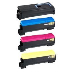 Grossist'Encre Cartouche Lot de 4 Cartouches Toners Lasers Compatibles pour KYOCERA TK540