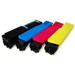 Grossist'Encre Cartouche Lot de 4 Cartouches Toners Lasers Compatibles pour KYOCERA TK550