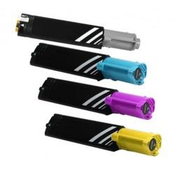 Grossist'Encre Cartouche Lot de 4 Cartouches Toners Lasers Compatibles pour DELL 3000 / 3100